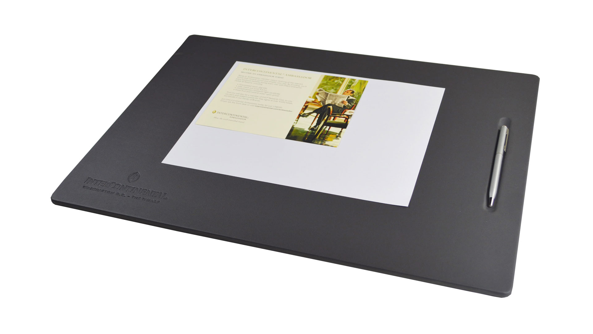 Desk Pads Monastery Hill Bindery - Conference room table mats