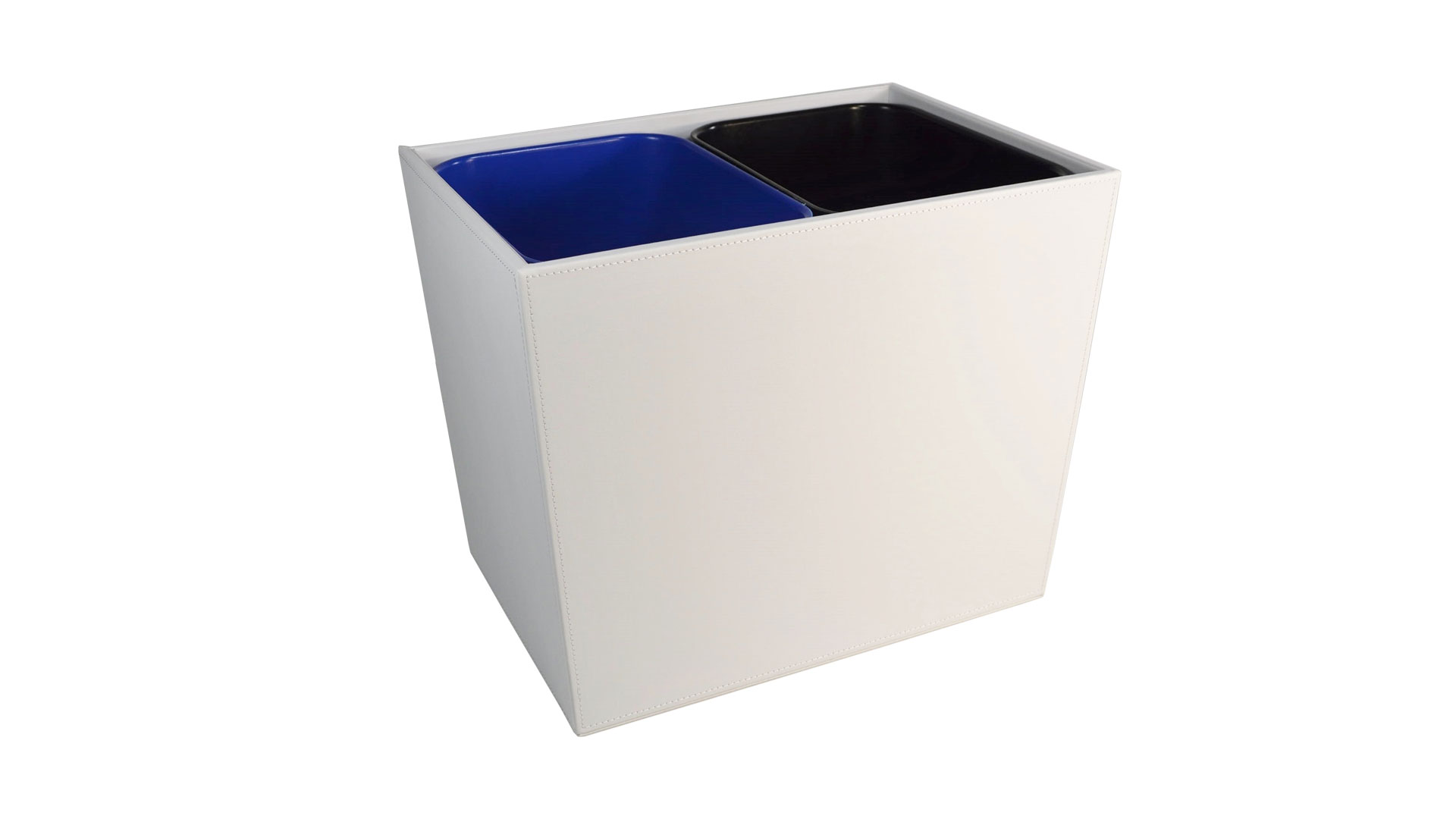 Dual Bin Recycle Wastebaskets Monastery Hill Bindery